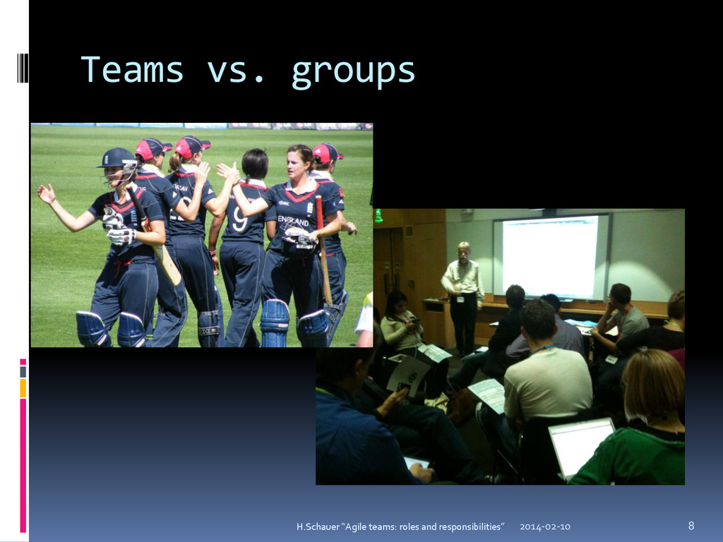 "Teams vs. groups 2014-02-10 8 H.Schauer ""Agile ..."