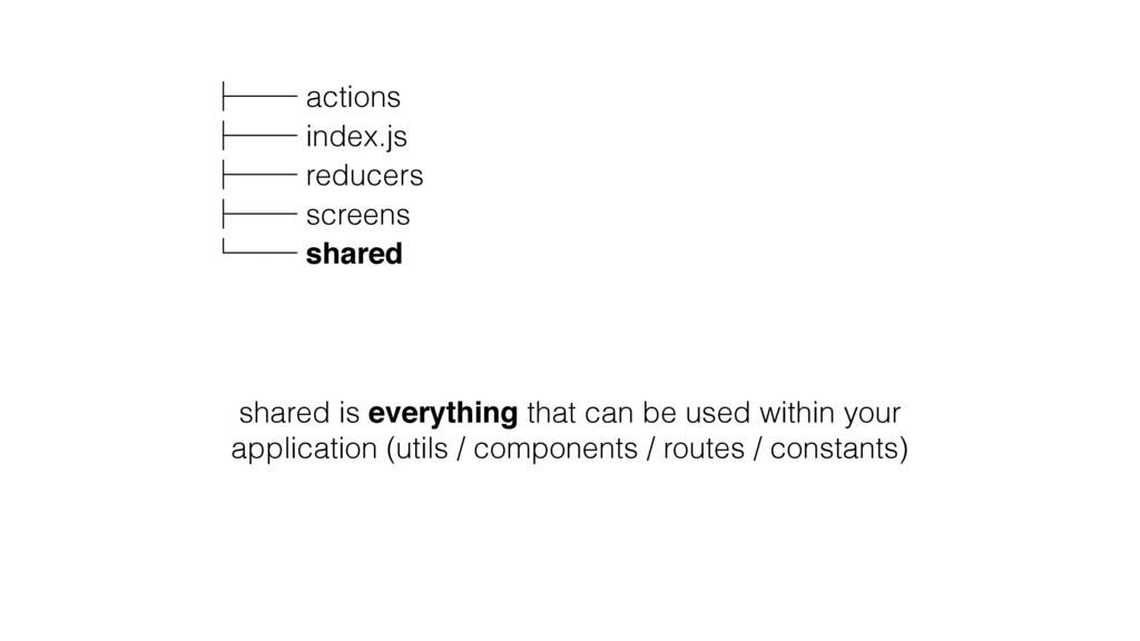 ʮʒʒ actions ʮʒʒ index.js ʮʒʒ reducers ʮʒʒ scree...