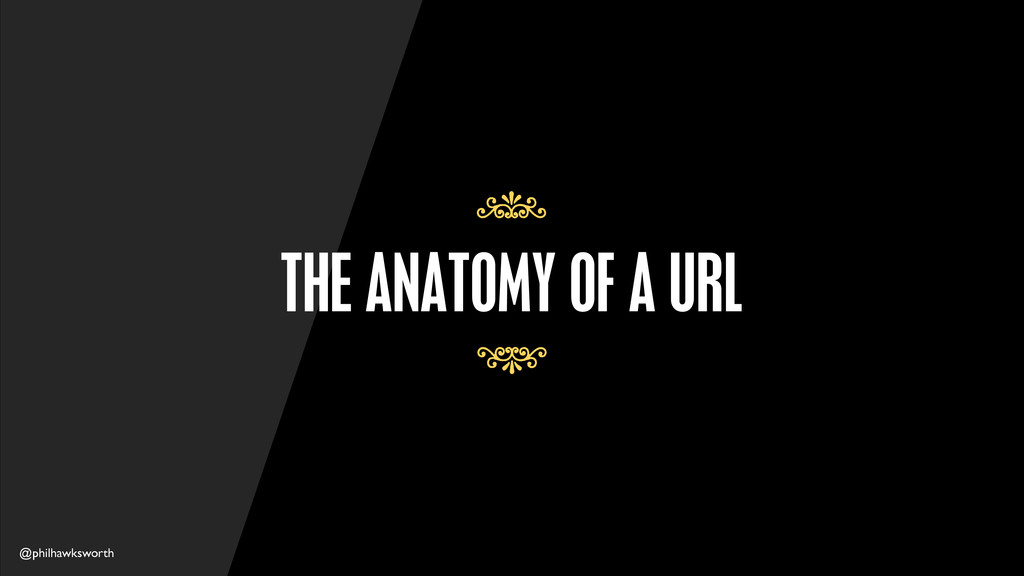 @philhawksworth THE ANATOMY OF A URL 7 7