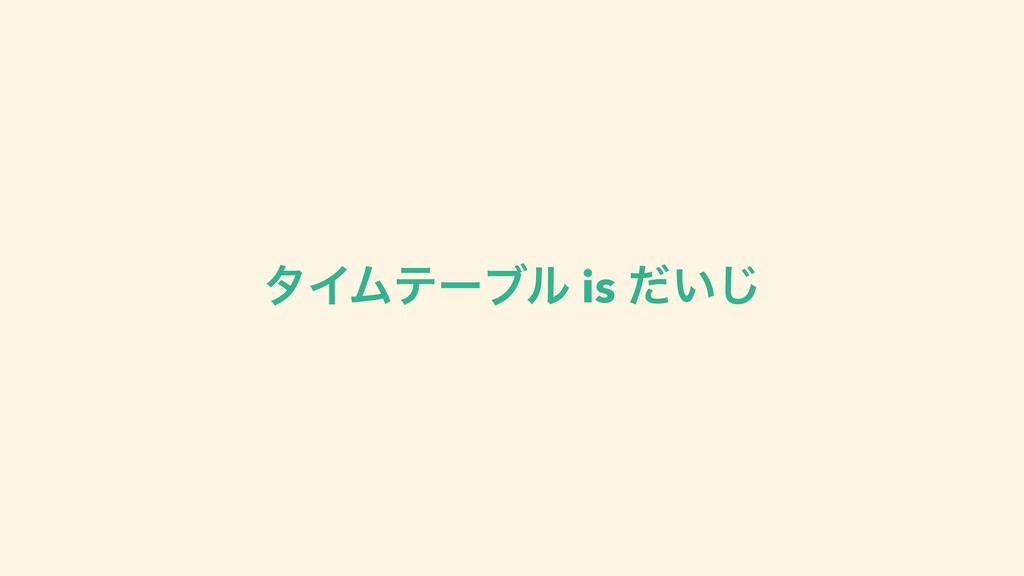 λΠϜςʔϒϧ is ͍ͩ͡