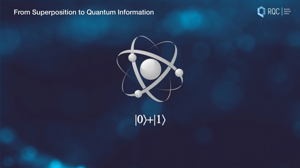 From Superposition to Quantum Information  0ñ+ ...
