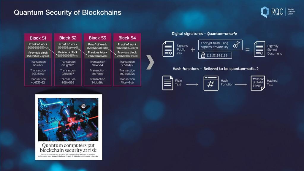 Quantum Security of Blockchains OBITUARY How Pa...