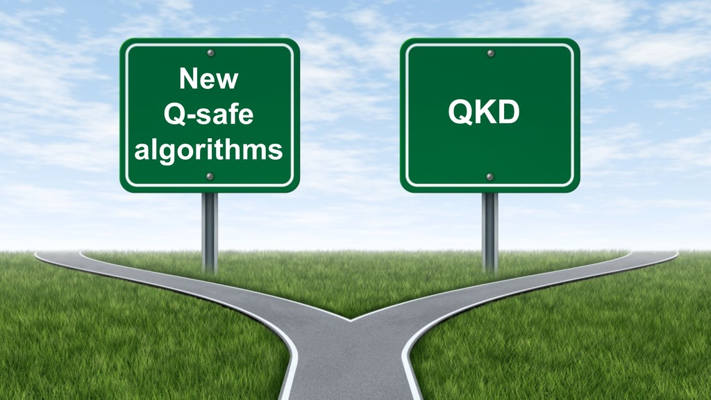 New Q-safe algorithms QKD