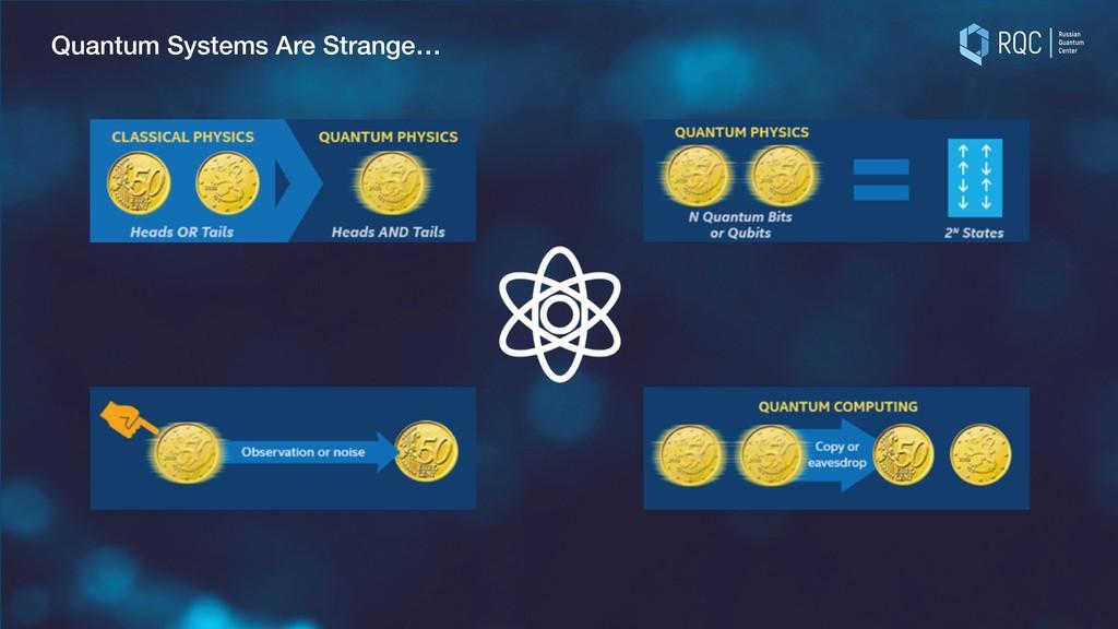 Quantum Systems Are Strange…