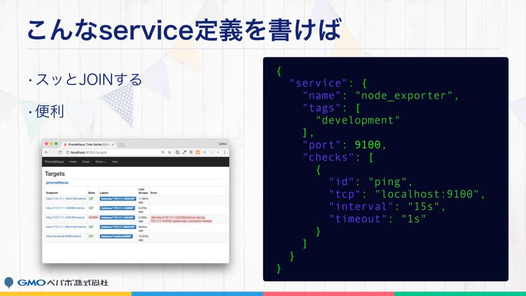 """͜ΜͳTFSWJDFఆٛΛॻ͚ wεοͱ+0*/͢Δ wศར { """"service"""": {..."""