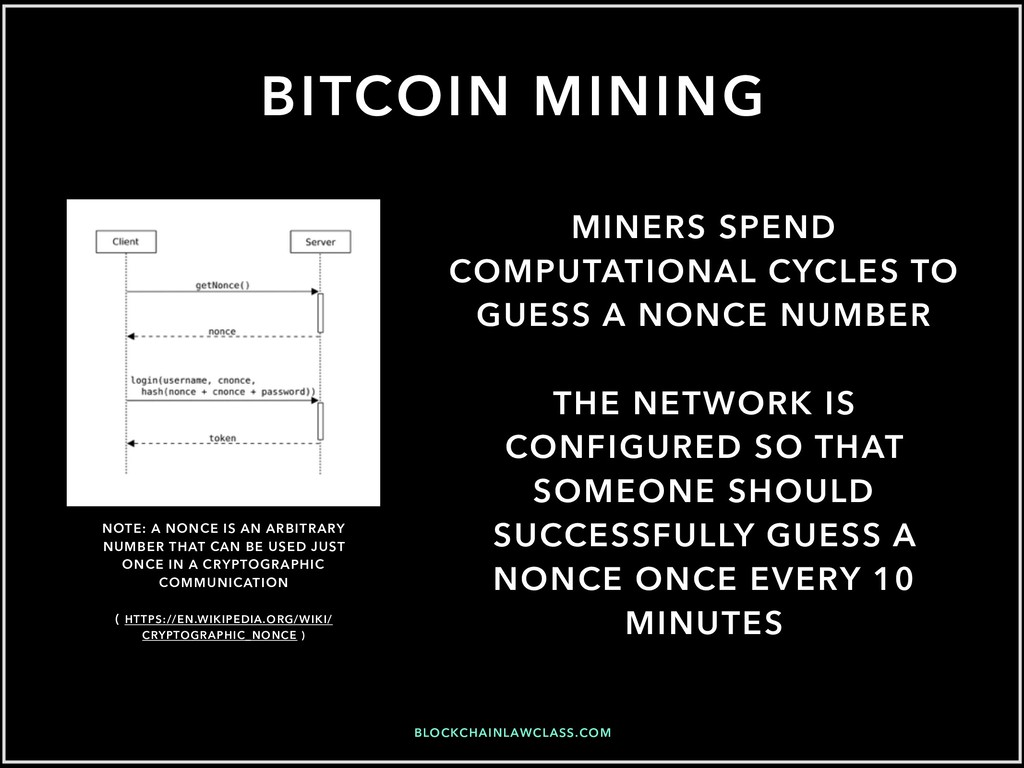 BITCOIN MINING MINERS SPEND COMPUTATIONAL CYCLE...