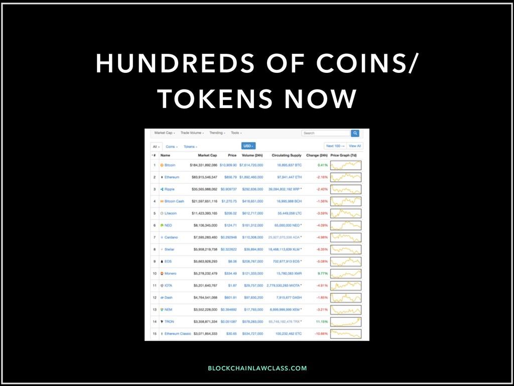 BLOCKCHAINLAWCLASS.COM HUNDREDS OF COINS/ TOKEN...