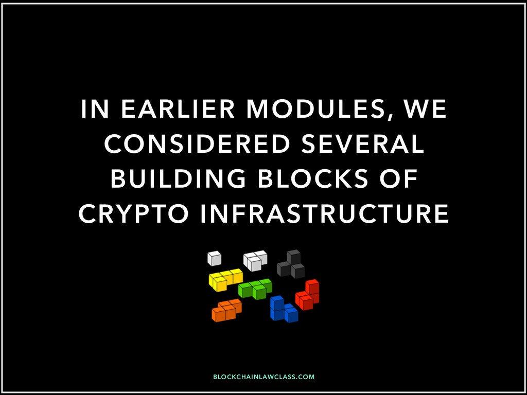 BLOCKCHAINLAWCLASS.COM IN EARLIER MODULES, WE C...