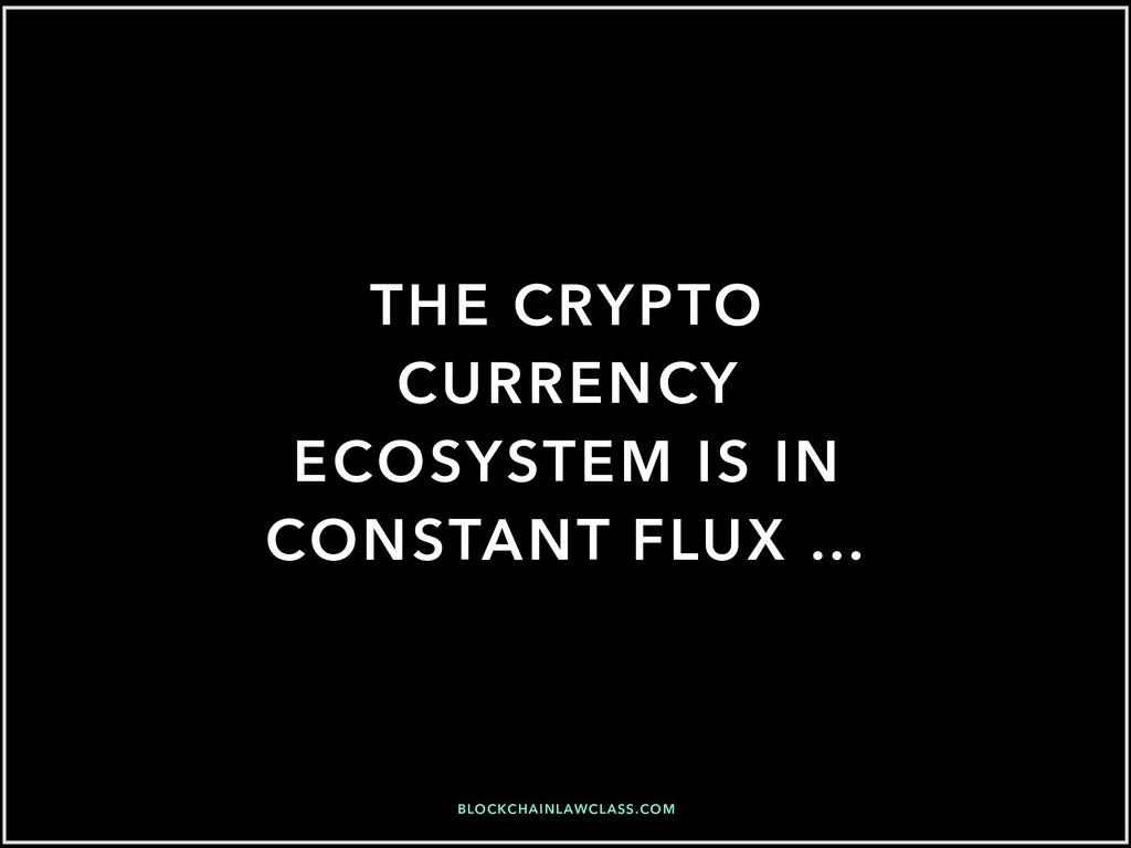 BLOCKCHAINLAWCLASS.COM THE CRYPTO CURRENCY ECOS...
