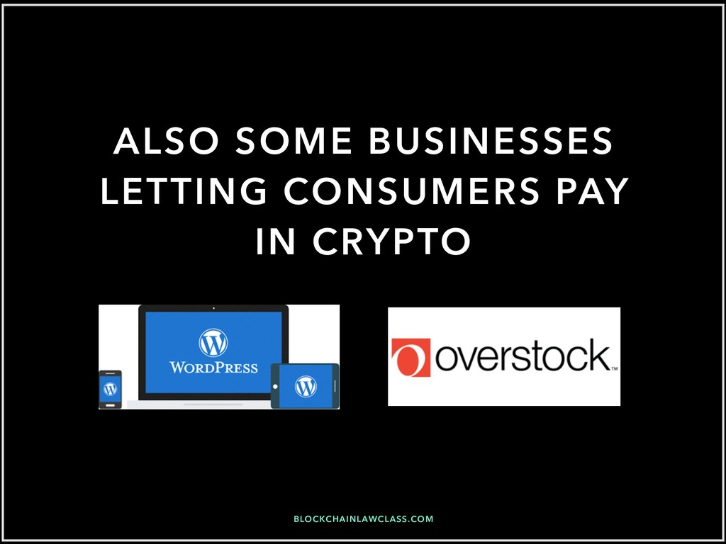 BLOCKCHAINLAWCLASS.COM ALSO SOME BUSINESSES LET...
