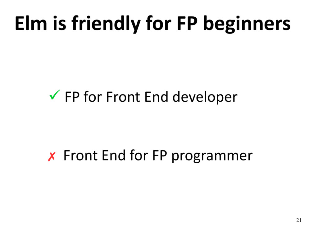 21 Elm is friendly for FP beginners ✓ FP for Fr...