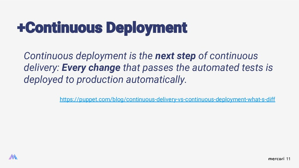 11 Continuous deployment is the next step of co...