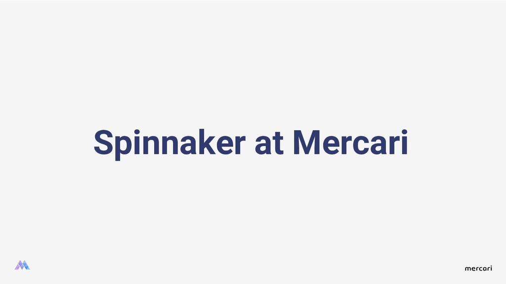Spinnaker at Mercari