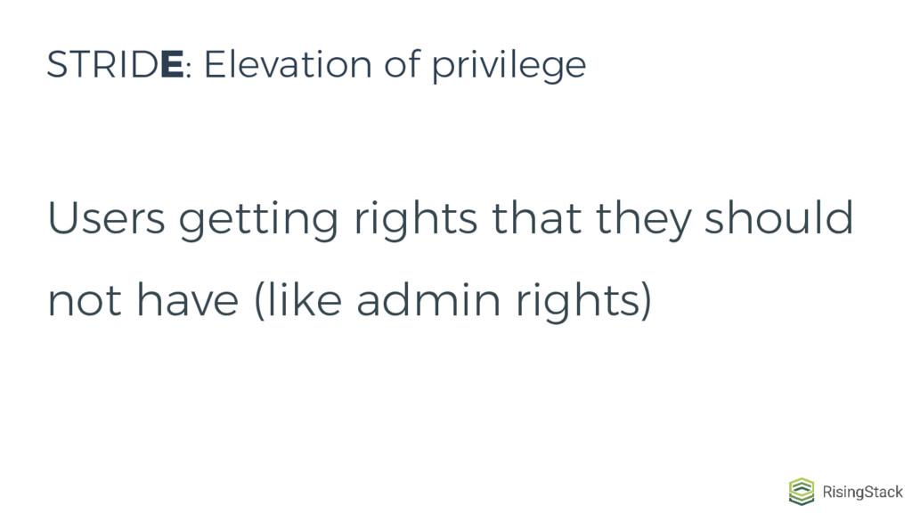Users getting rights that they should not have ...