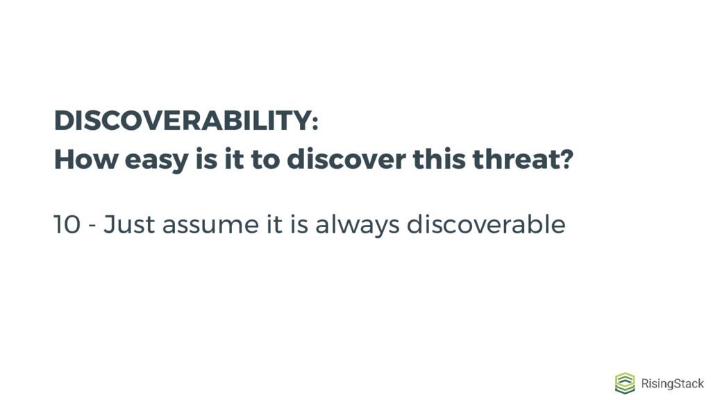 DISCOVERABILITY: How easy is it to discover thi...