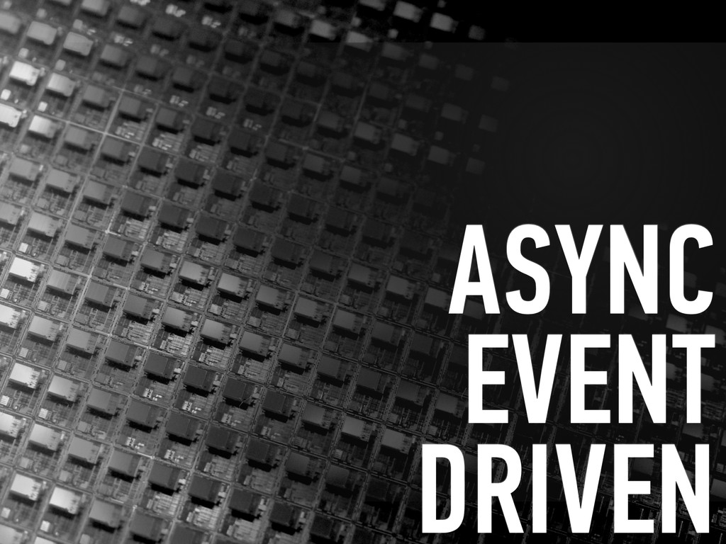 ASYNC EVENT