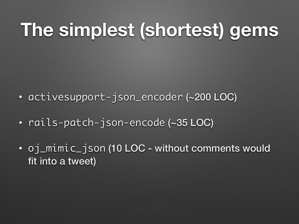 The simplest (shortest) gems • activesupport-js...