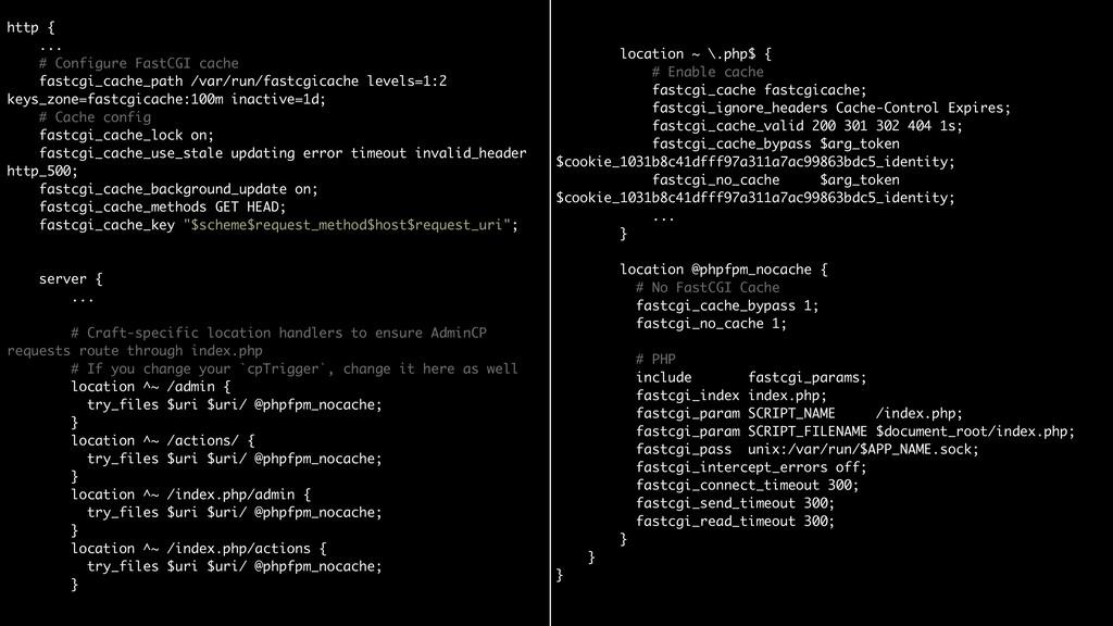 http { ... # Configure FastCGI cache fastcgi...