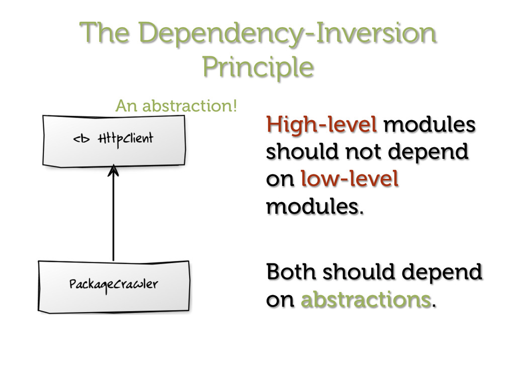 The Dependency-Inversion Principle High-level m...