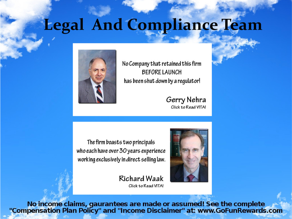 Legal And Compliance Team