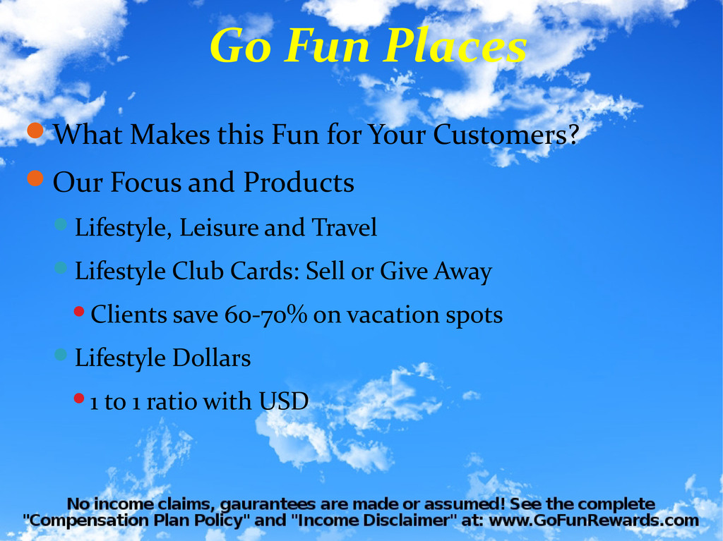 What Makes this Fun for Your Customers? Our F...