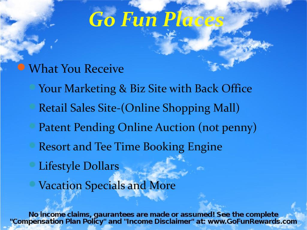 What You Receive Your Marketing & Biz Site wi...