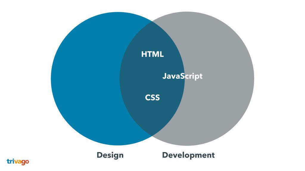 Design Development HTML CSS JavaScript