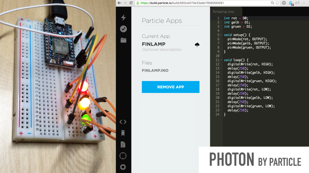 PHOTON BY PARTICLE