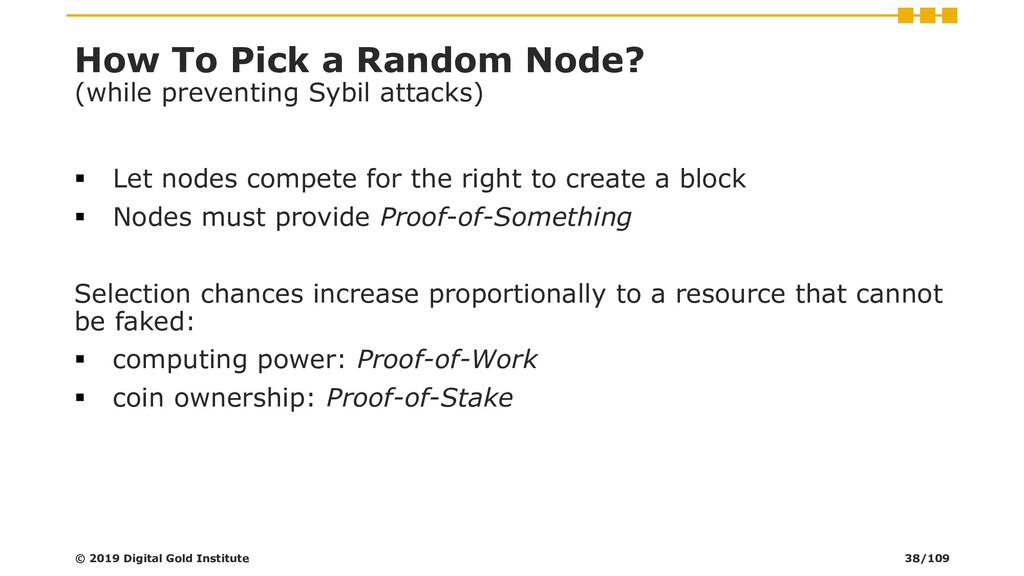 How To Pick a Random Node? (while preventing Sy...
