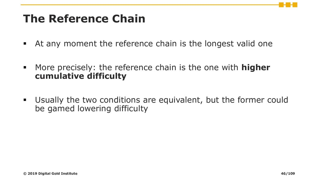 The Reference Chain ▪ At any moment the referen...