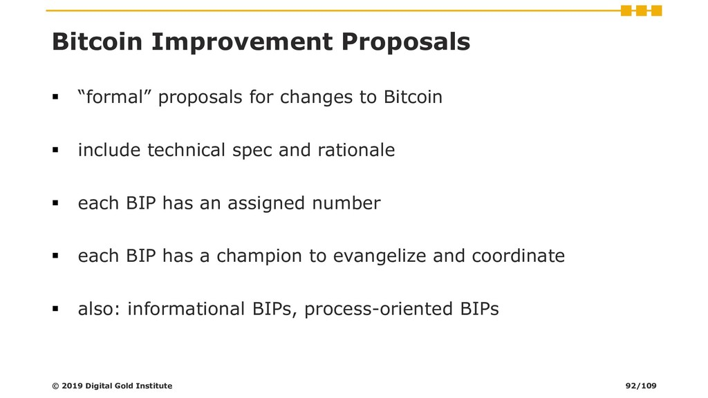 "Bitcoin Improvement Proposals ▪ ""formal"" propos..."