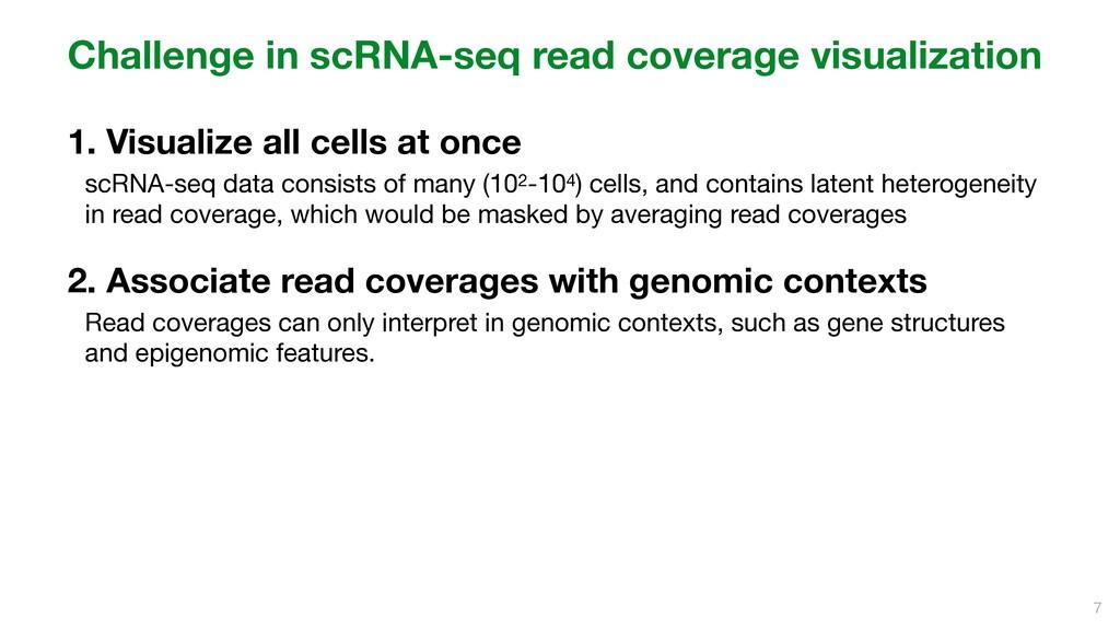 Challenge in scRNA-seq read coverage visualizat...