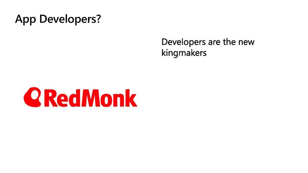 App Developers?