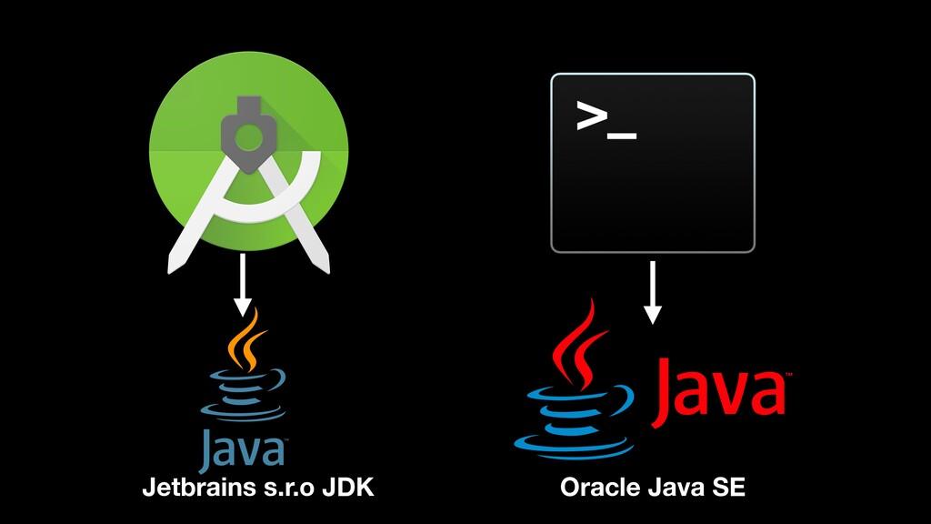 Jetbrains s.r.o JDK Oracle Java SE