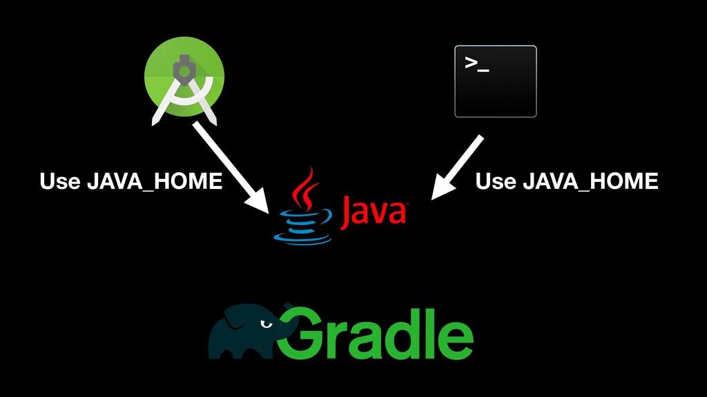 Use JAVA_HOME Use JAVA_HOME