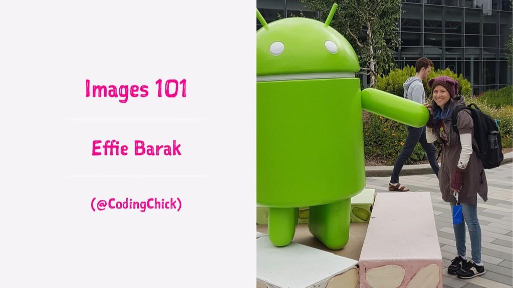 Images 101 Effie Barak (@CodingChick)