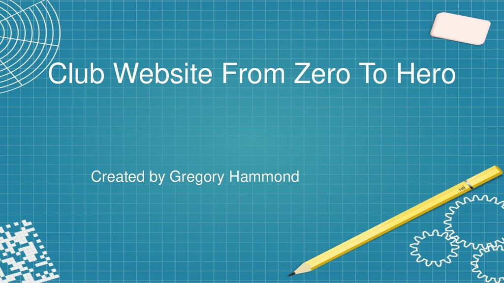 Club Website From Zero To Hero Created by Grego...