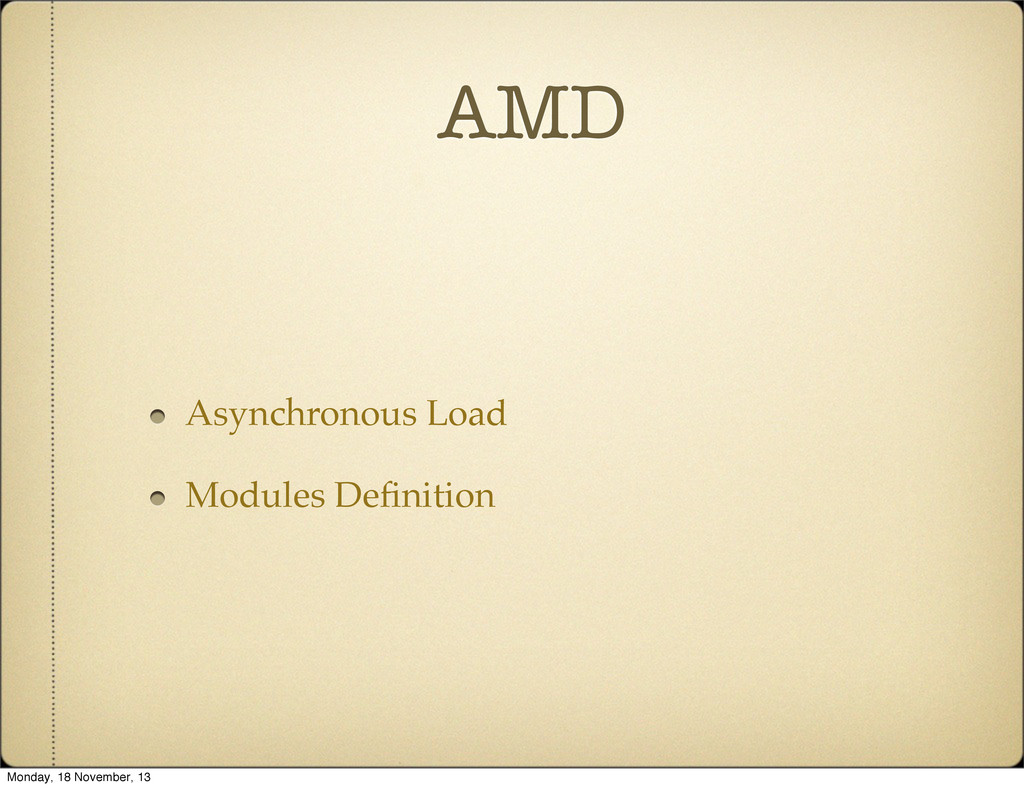 AMD Asynchronous Load Modules Definition Monday,...