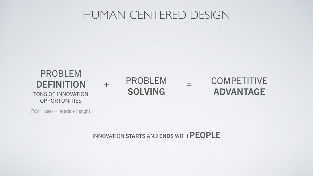 PROBLEM DEFINITION TONS OF INNOVATION OPPORTUNI...