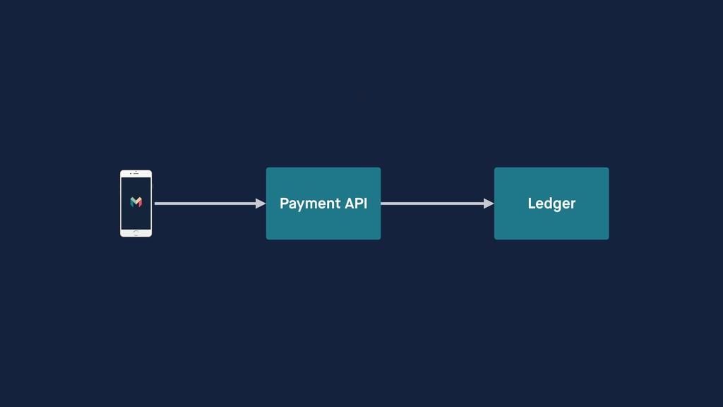 Payment API Ledger