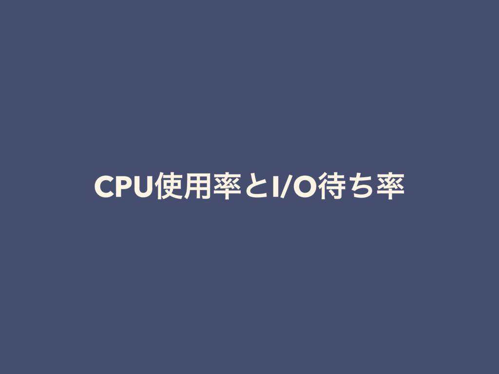 CPU༻ͱI/Oͪ