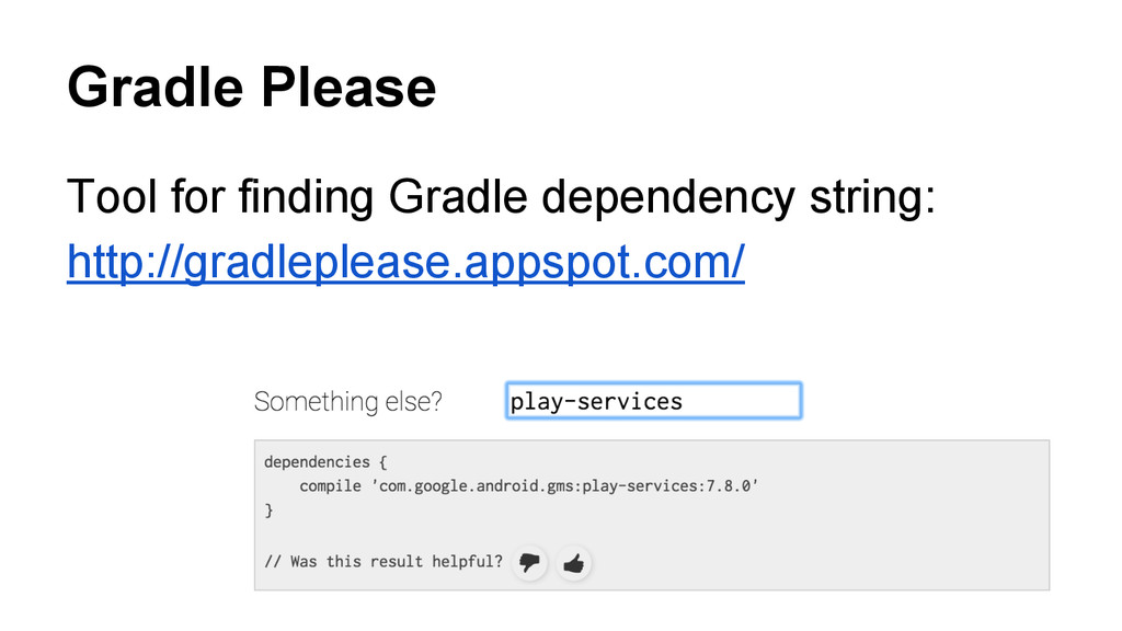 Gradle Please Tool for finding Gradle dependenc...