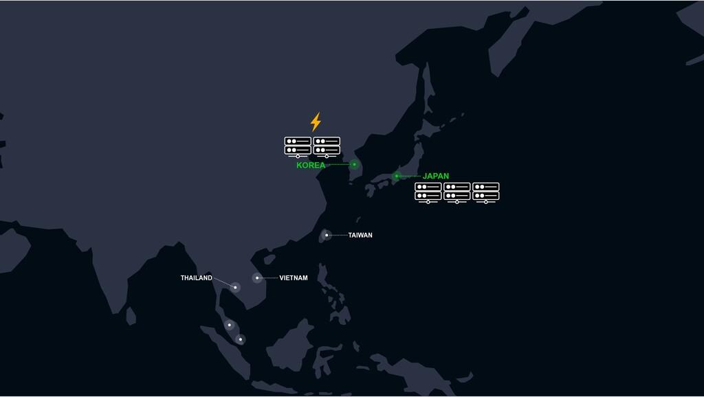 JAPAN KOREA VIETNAM TAIWAN THAILAND