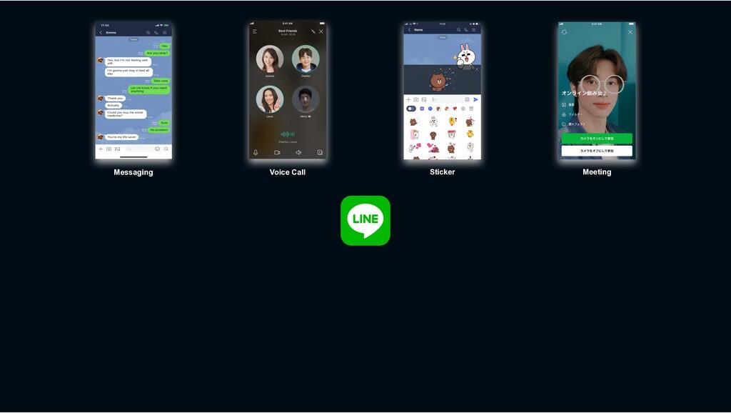 Sticker Voice Call Messaging Meeting