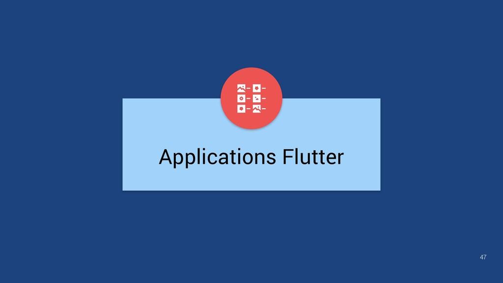 Applications Flutter 47