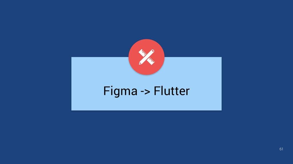 Figma -> Flutter 61