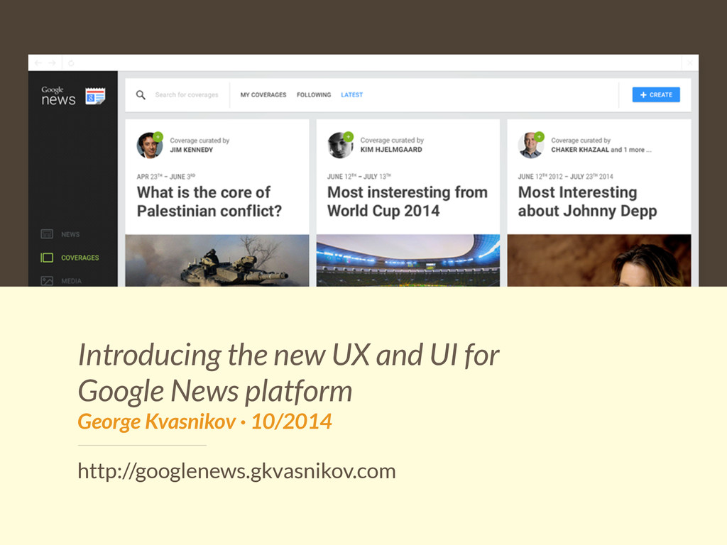 Introducing the new UX and UI for Google News p...