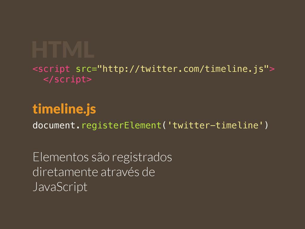 document.registerElement('twitter-timeline') El...