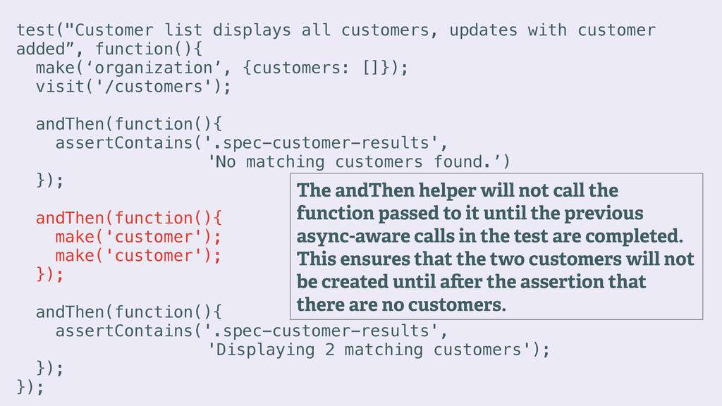 """test(""""Customer list displays all customers, upd..."""