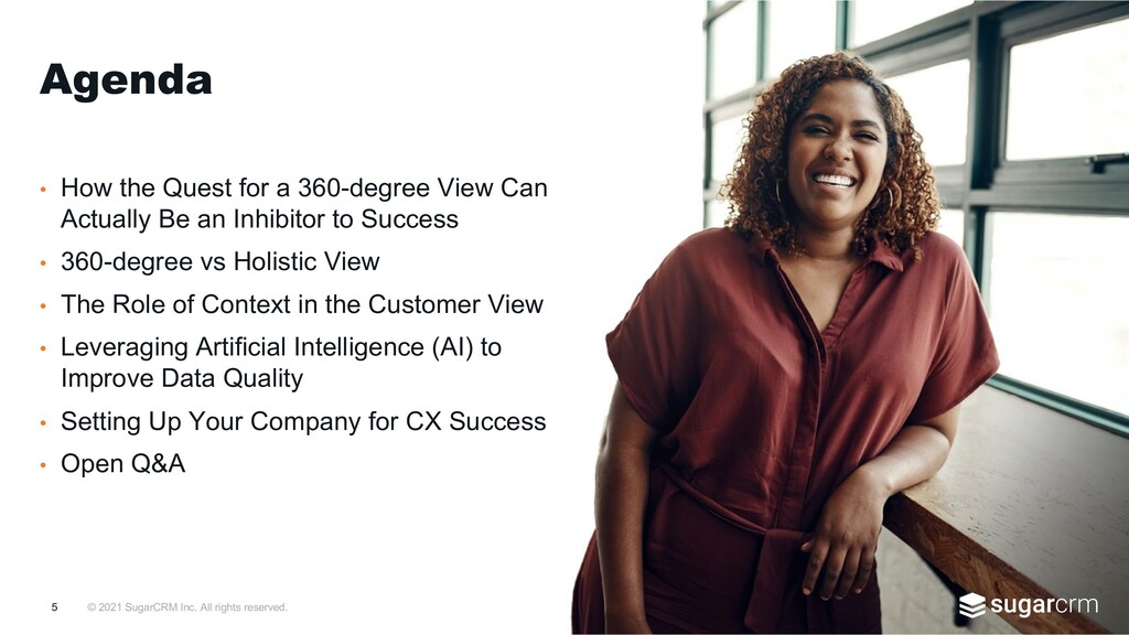 © 2021 SugarCRM Inc. All rights reserved. • How...
